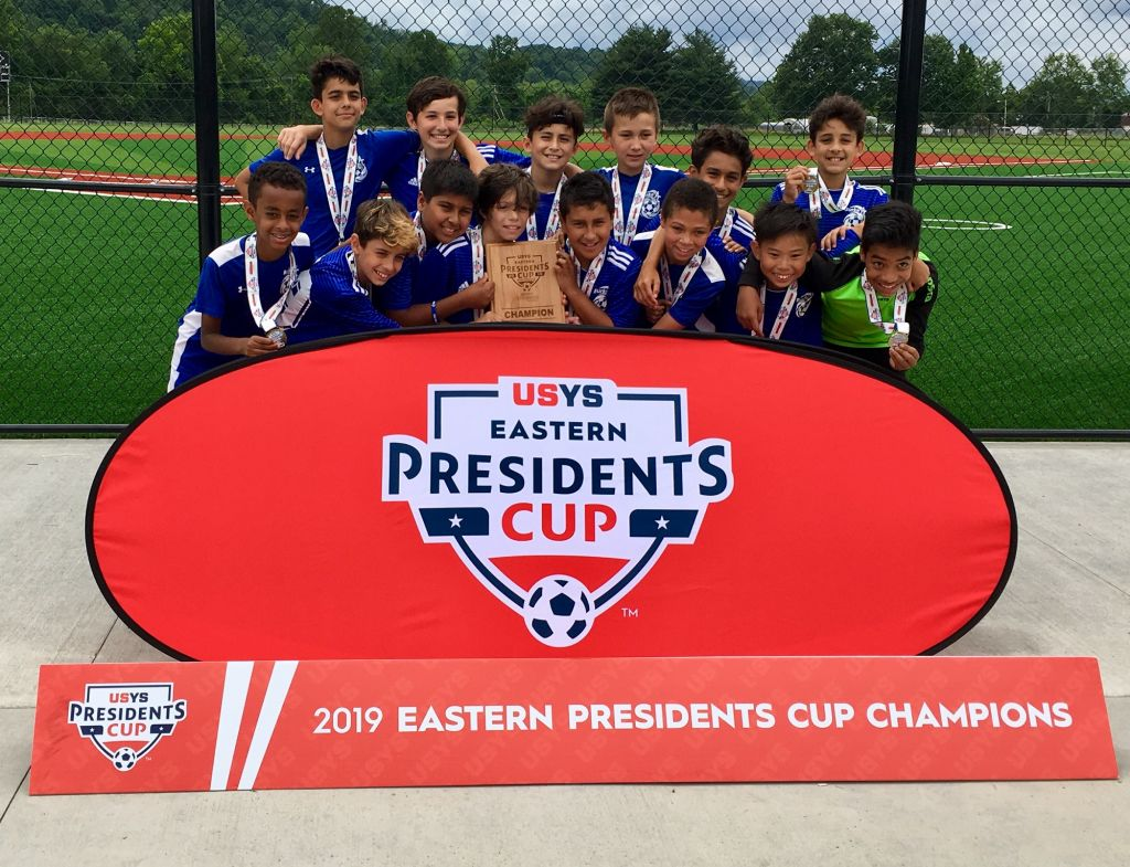 BAC United 2007 (U12B) Champions at the USYS 2019 Eastern Presidents Cup