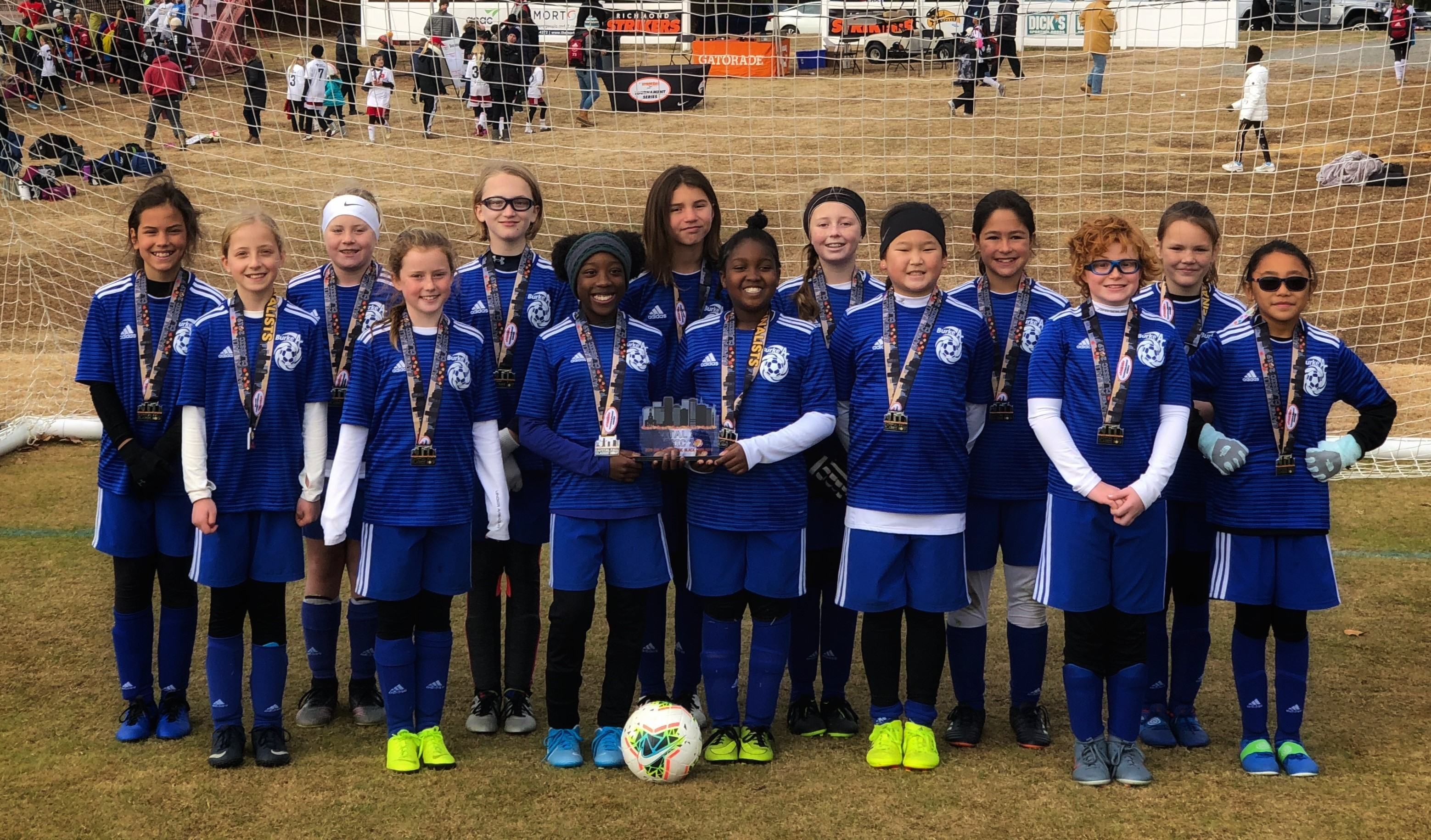 BAC Cobras (U11G) finalists at the Capital City Fall Classic